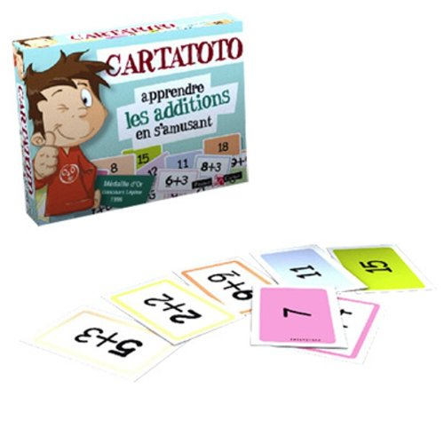 France Cartes - 410003 - Jeu de cartes - Carta toto Additions