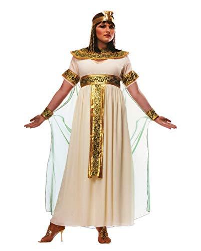 Kostüm Cleopatra Plus - Horror-Shop Cleopatra Plus Size Kostüm für Fasching & Karneval XL
