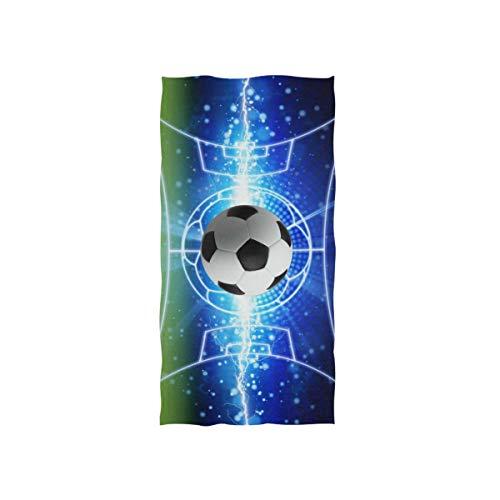 Vinlin Serviette de Bain en Microfibre Haute Absorption pour Ballon de Football pour la Plage, la Gym, Le Sport
