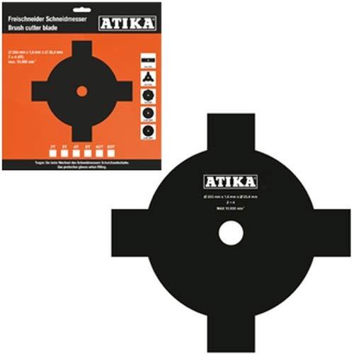 ATIKA Ersatzteil 4-Zahn Schneidmesser für Freischneider BF 43-2 ***NEU***