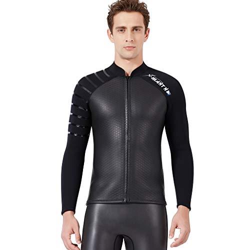 LOPILY Taucheranzug Surfbekleidung Damen Herren Badeanzüge Wetsuit Schwimmen Surfen Tauchen Sport Badeanzug Wassersport Anzug Einteiler Schnorchelanzug(Schwarz,XL)