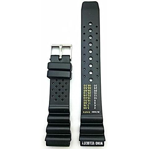 Orologio da polso, 20 mm, colore: nero