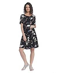 ONLY Women Casual Dress(_5713720940130_Black_34_)