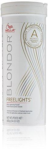 Wella Blondor Lightening (Wella Professionals Blondor Freelights White Lightening Powder, 14.10 Ounce by Wella)