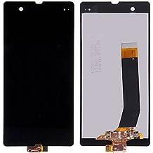 Sony Xperia Z L36 L36i C6603 C6602 LCD Pantalla Táctil Digitalizador Vidrio Completa Reemplazo y Herramientas (Negro)