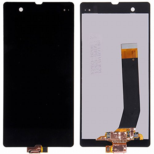 ixuan Sony Xperia Z L36 L36i c6603 c6602 LCD Display Touchscreen Assembly Ersatz (Ohne Rahmen) (Schwarz)
