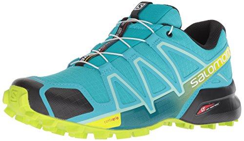 Salomon Speedcross 4 W, Calzado de Trail Running para Mujer, Azul (Bluebird/Acid...