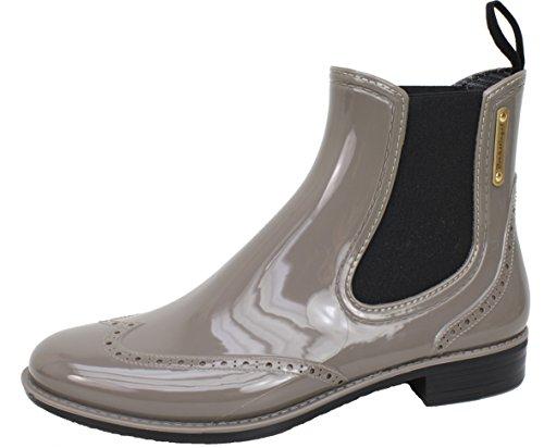 BOCKSTIEGEL® CHELSEA Donna - Mezzo Stivali di gomma alla moda | Chelsea Boots | Impermeabile | Moda | Design esclusivo Grey