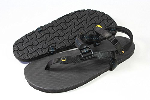LUNA Sandals, Sandali donna nero nero, nero (nero), 12
