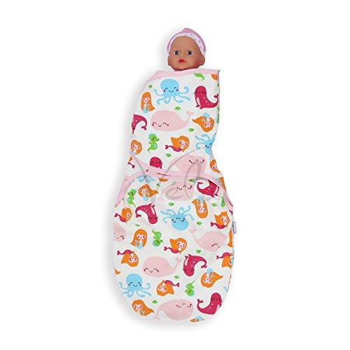 Innova® Soft Baby Comfort Wickeltuch Decke Schlafsack für 0–6Monate