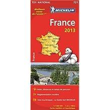 Carte France Michelin 2013