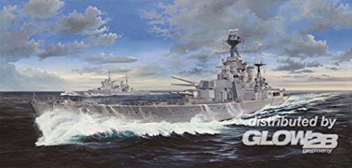 Schiff Modellbau Militär Schlachtschiff - Schifffahrt - Trumpeter HMS Hood in Maßstab 1:200 - in der Zwischenkriegszeit war die HMS Hood das größte Kriegsschiff der Welt.