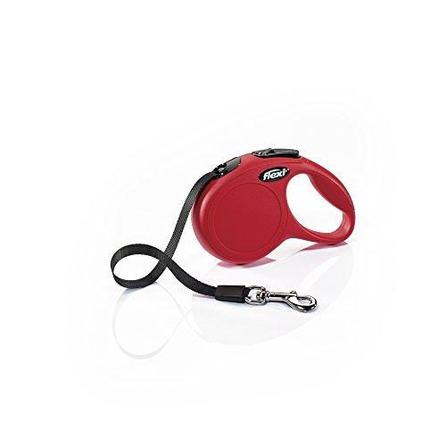 Flexi Hundeleine, einziehbar, 3 m, Größe XS, Rot -