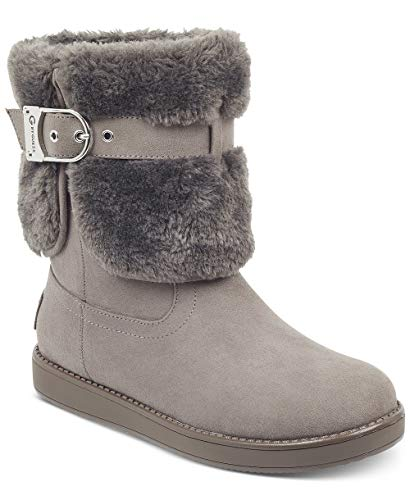 Guess G by Frauen Aussie Geschlossener Zeh Kaltes Wetter Stiefel Grau Groesse 6 US /37 EU