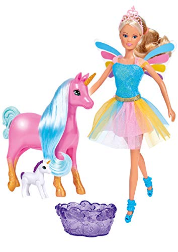 Simba 105733313 Steffi Love Welcome Unicorn - Muñeco de Peluche