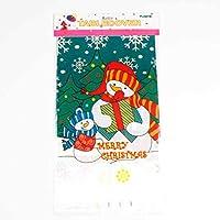 Cubiertas de Mesa de Comedor de Cocina Decoraciones de Navidad para el hogar Fuentes de Fiesta de año Noel Noel Feliz Mantel Rectangular de Navidad
