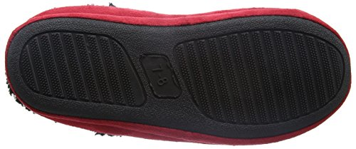 Bafiz Liverpool, Chaussons Mules Homme Rouge (Red/Black 909)