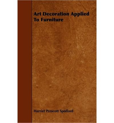 Art Decoration Applied To Furniture (Paperback) - Common