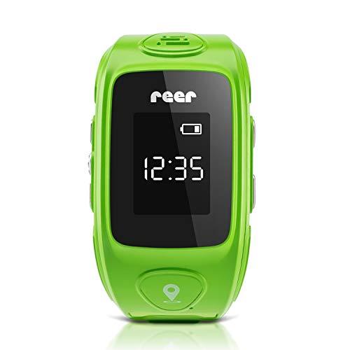 reer AngelGuard GPS-Uhr für Kinder, mit Notruf-Funktion und Telefonfunktion, OHNE Abhörfunktion