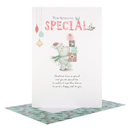 Auguri Di Natale A Una Persona Speciale.Hallmark Biglietto Una Persona Speciale Happy Wish Auguri Di Natale