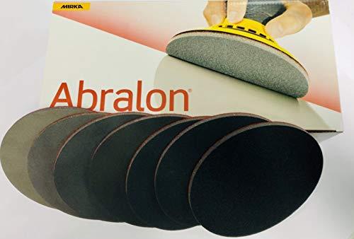 Abralon Schleifpad alle Körnungen Ø 150 mm ungelocht perfekt zum aufbereiten und reinigen von Ihrem Bowling Ball Variante 180 Grit