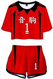 Haikyuu!! Nekoma High School -5 1 Kenma Kozume Kuroo Tetsuro Cosplay Costume Haikiyu VolleyBall Team Jersey Sp