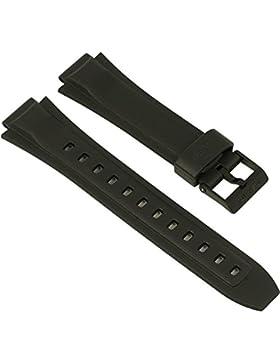 Casio Ersatzband Uhrenarmband Resin Band Schwarz MW-600