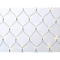 COSYLUX® LED Lichternetz mit 160 LEDs warmweiß / 320 x 150 cm/TÜV geprüft/Innen & Außen/Weihnachten Geburtstag Party Garten