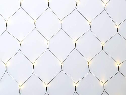 COSYLUX LED Lichternetz mit 160 LEDs warmweiß / 320 x 150 cm/TÜV geprüft/Innen & Außen/zu...