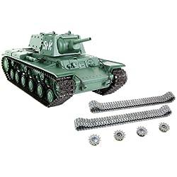 XciteRC KW-1 - RC- Vehículos militares terrestres (Níquel-Hidruro metálico (NiMH), Tanque de juguete)