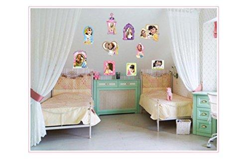 diy-princess-cartoon-stickers-muraux-de-caractere-design-photo-frame