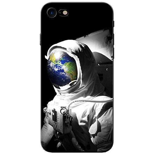 Astronautenanzug & Spiegelbild der Erde Hartschalenhülle Telefonhülle zum Aufstecken für Apple iPhone 8