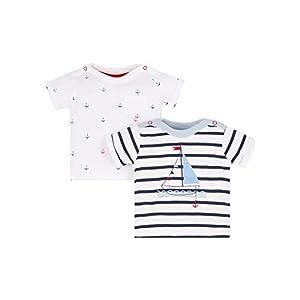 Mothercare Heritage, T-Shirt Bimbo, Multicoloured (Brights Multi PE105-281), 6 mesi