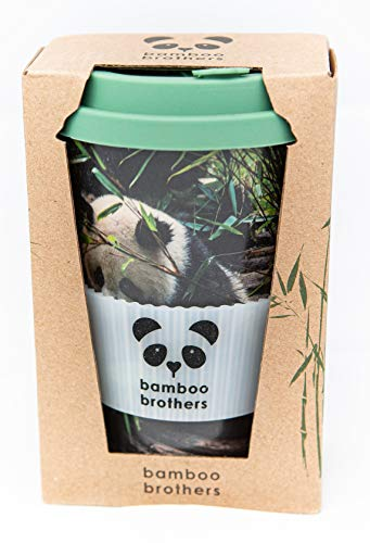 bamboo brothers Thermobecher | Coffee to go | ökologischer Kaffeebecher aus Bambus
