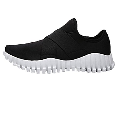 Oriskey Damen Laufschuhe Sportschuhe Fitness Sneakers Sport Turnschuhe Schwarz