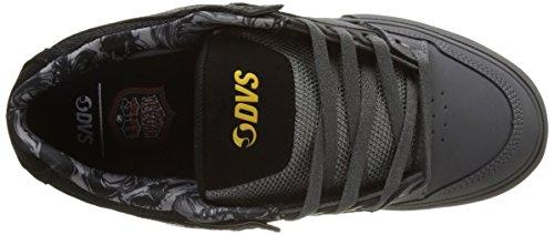 DVS Herren Celsius Ct Skateboardschuhe Noir (Black Charcoal Leather Nubuck Deegan)