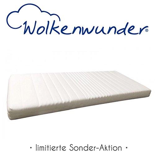 Matratzen-Angebot Wolkenwunder Wellflex-Schaum-Matratze 90x200 cm Mittel