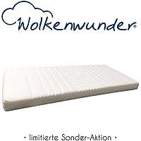 Matratzen-Angebot Wolkenwunder Kaltschaummatratze 90x200 cm H2 - Sofort lieferbar - Bezug waschbar - TOP-Preis