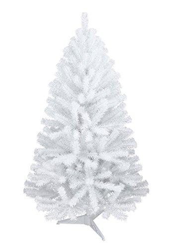 Oncor - Weihnachtsbaum Christbaum Tannenbaum in weiß 150 cm groß