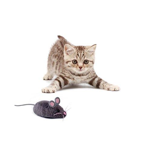HEXBUG 503502 – Mouse Cat Toy grau, Elektronisches Spielzeug - 3