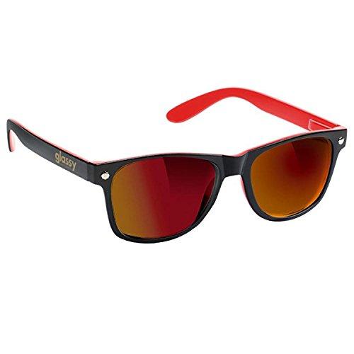 Glassy GLASSY Sonnenbrille LEONARD black red mirror multicolour