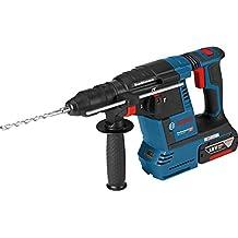 Bosch GBH 18V-26 F 425W 4350ppm Ión de litio 3300g martillo perforador inalámbrico - Martillo rotatorio (Ión de litio, 18 V, 3,3 kg, 378 mm, 225 mm, Negro, Azul, Rojo)