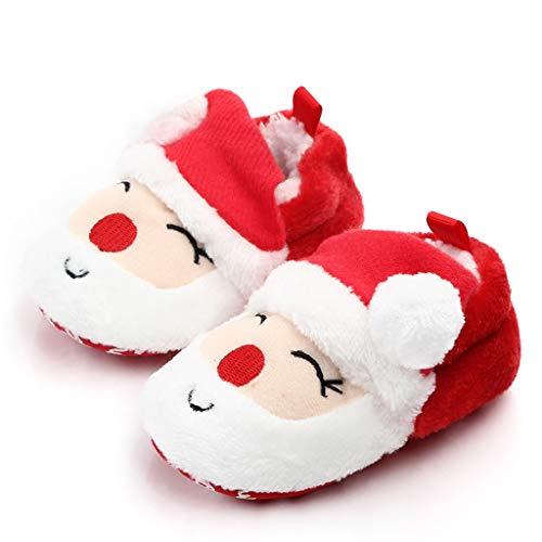 TwoCC Schuhe Baby Mädchen Weiche Schuhe Boss Santa Hintergrund Sowie Velvet Sneakers Winter Herbst Schuhe Schuhe Princess First Boots -