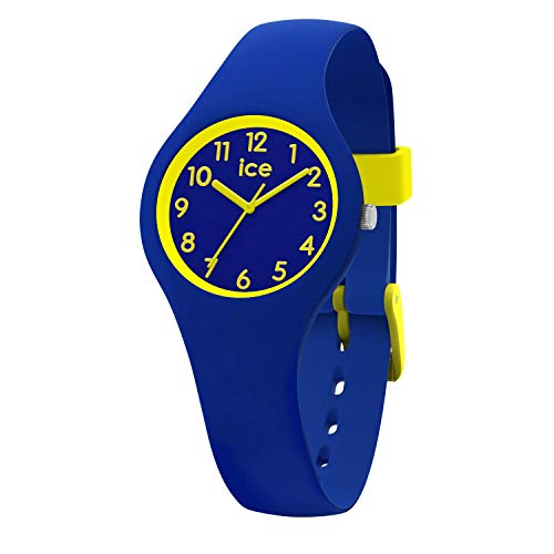 Ice-Watch - Ice Ola kids Rocket - Blaue Jungenuhr mit Silikonarmband - 015350 (Extra small) (Kids-uhren)
