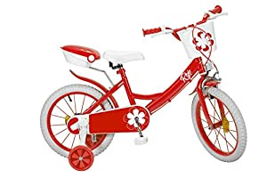TOIMSA 16235 Colors - Bicicleta (16 Pulgadas), Color Rojo