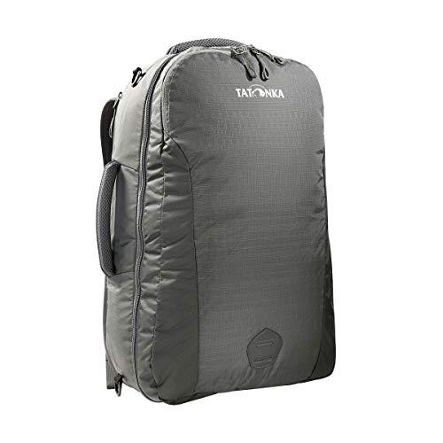 Tatonka Flightcase Handgepäck-Rucksack - 54 x 33 x 18 cm - Kofferrucksack mit verstaubaren Trägern - 40 Liter - für Männer und Frauen - Titan Grey -