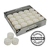 PAPSTAR Teelichter ´Deco Lights´, Durchmesser: 39 mm, weiß, Inhalt: 50 (Neu)