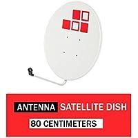 Parabólica Kuma 80cm offset Diesl.com 35 dB - 38 dB