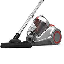 Hoover Power 6 Cyclonic Canister Vacuum Cleaner, HC84-P6A-ME, Grey, 1 Year Brand Warranty