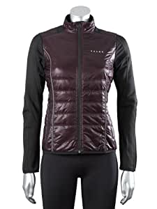 FALKE Damen Running Primaloftjacke Hybrid, burgundy, M, 38168
